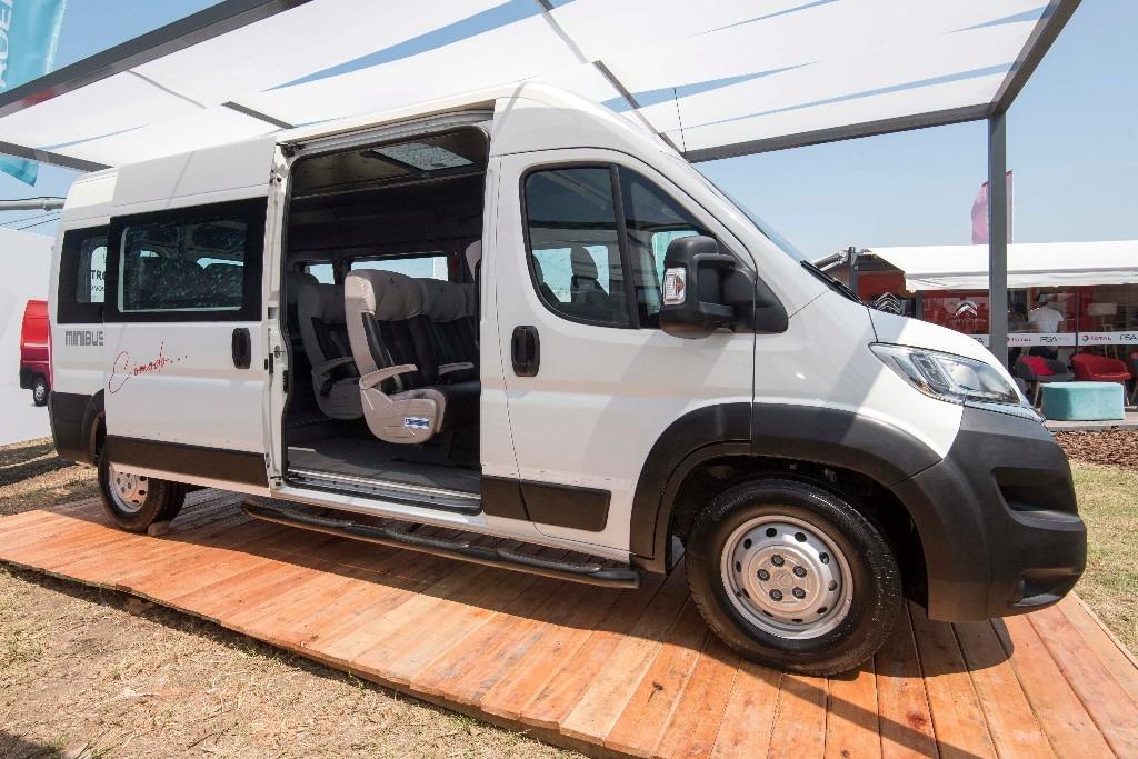 CItroën lanza el Jumper Minibus