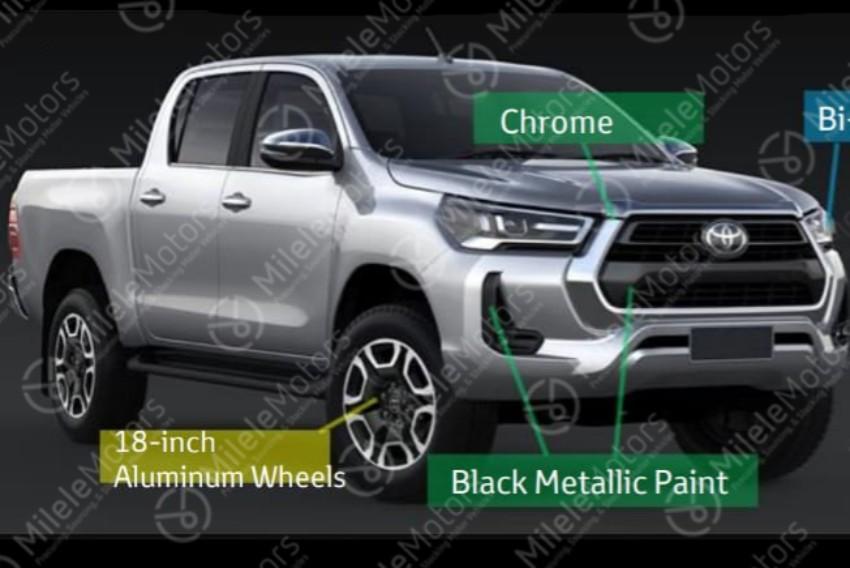 Se filtra el rediseño de la Toyota Hilux
