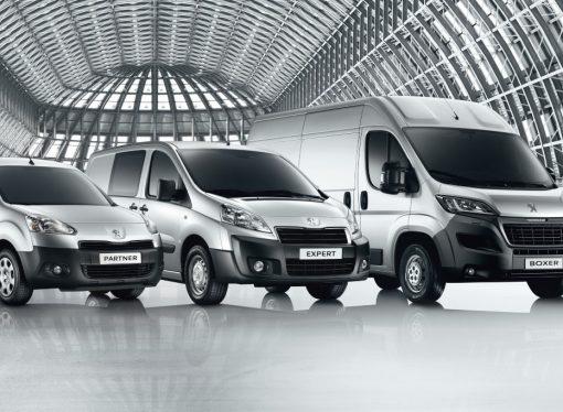 13 furgones de la historia de Peugeot