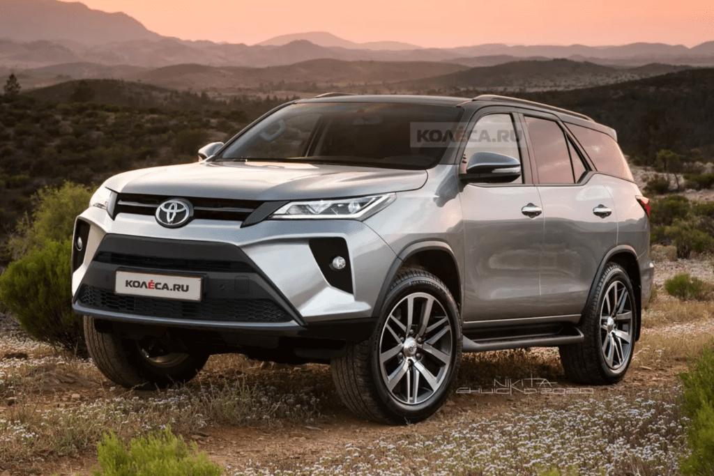 Así quedará la nueva Toyota SW4