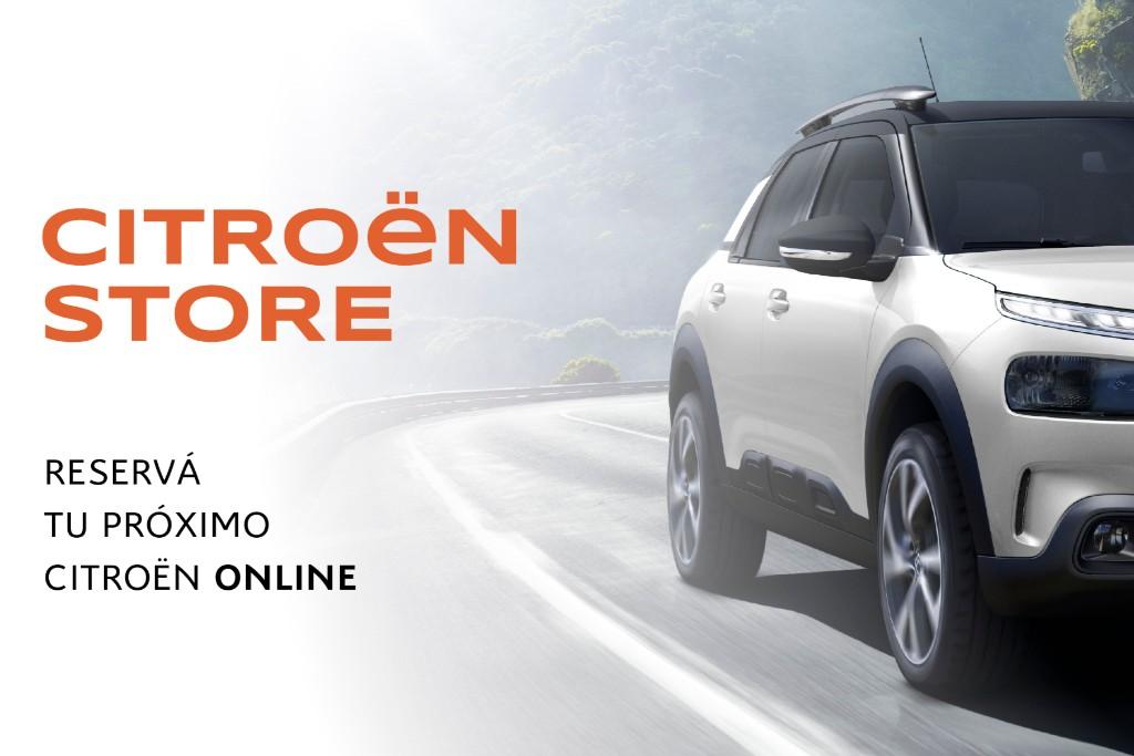 Citroën abre un canal de venta 100% online