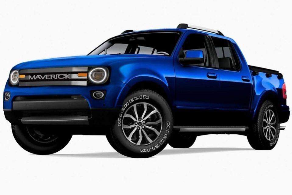 ¿Será Maverick el nombre de la nueva pick de Ford?