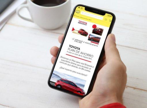 Toyota Plan de ahorro se suma a Mercado Libre