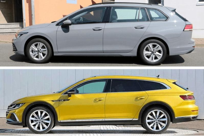 Golf y Arteon: Volkswagen no renuncia a las rurales