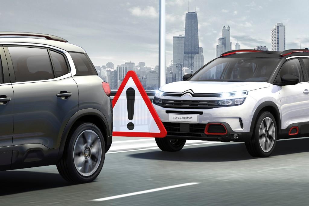 Las ayudas a la conducción que trae el Citroën C5 Aircross