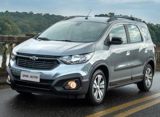 El Chevrolet Spin suma ESP en Brasil (a fin de año en la Argentina)