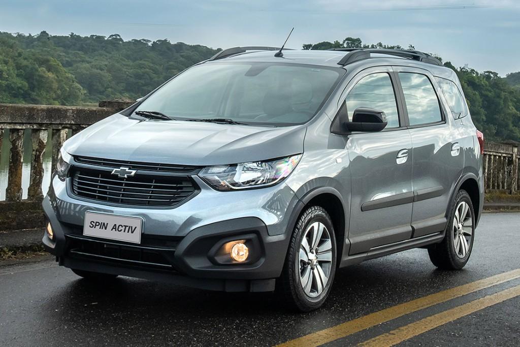Chevrolet lanza la Spin 2021 (ahora con ESP)