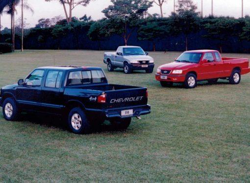 La Chevrolet S10 cumple 25 años en la región