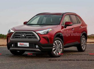 Así será el Toyota Corolla Cross que llega en 2021