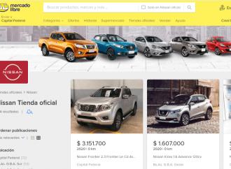 Nissan lanza su tienda en Mercado Libre