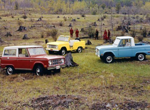 Cómo era el Ford Bronco original