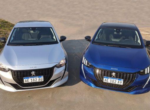 Peugeot 208 Like vs Feline: todas las diferencias