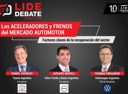 Este jueves, LIDE debate con los líderes del mercado automotor