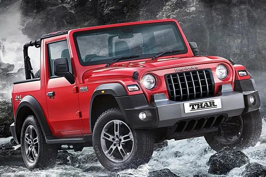 Así es el nuevo Mahindra Thar, el Jeep Wrangler indio