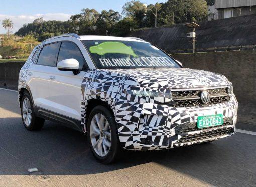 El Volkswagen Tarek, cazado con su carrocería definitiva