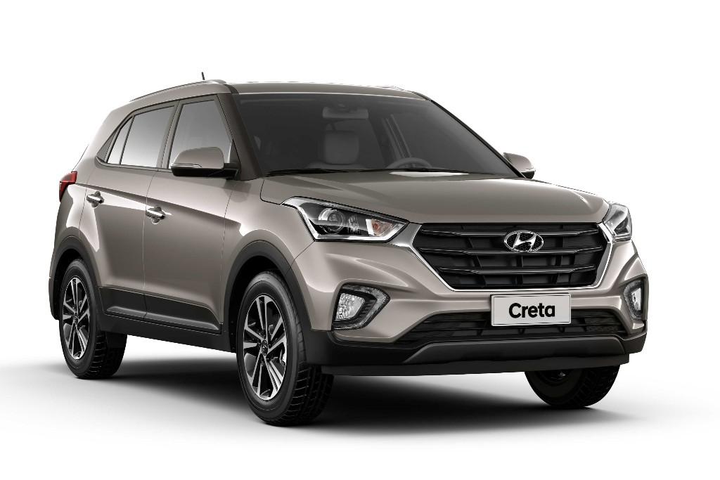 Hyundai lanza la Creta importada de Brasil