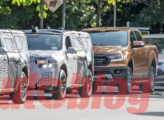 La Ford Maverick muestra su porte junto a la Ranger