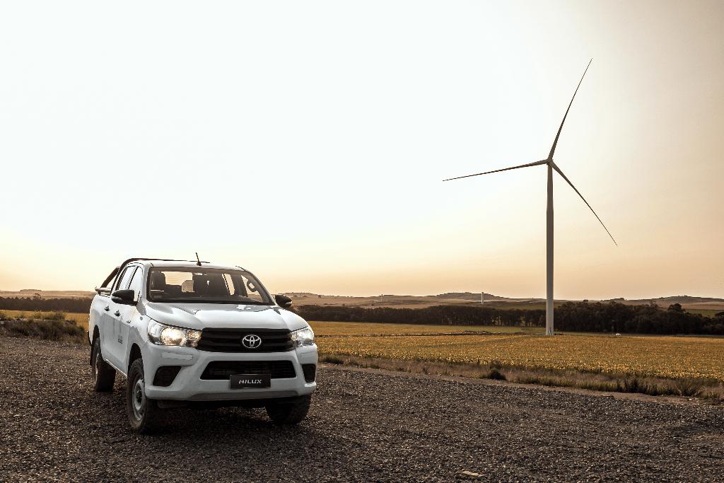 Toyota produce en Zárate con 100% de energía eléctrica renovable