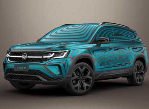 Primeras imágenes oficiales del Volkswagen Taos