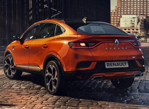 El Renault Arkana suma chances para llegar al país