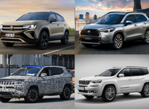 4 SUV medianos regionales que calentarán el segmento en 2021