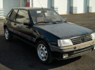 Peugeot restaurará clásicos: arranca con este 205 GTi