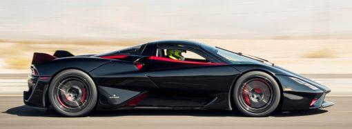 509 km/h! El SCC Tatuara logra el récord para un auto de producción