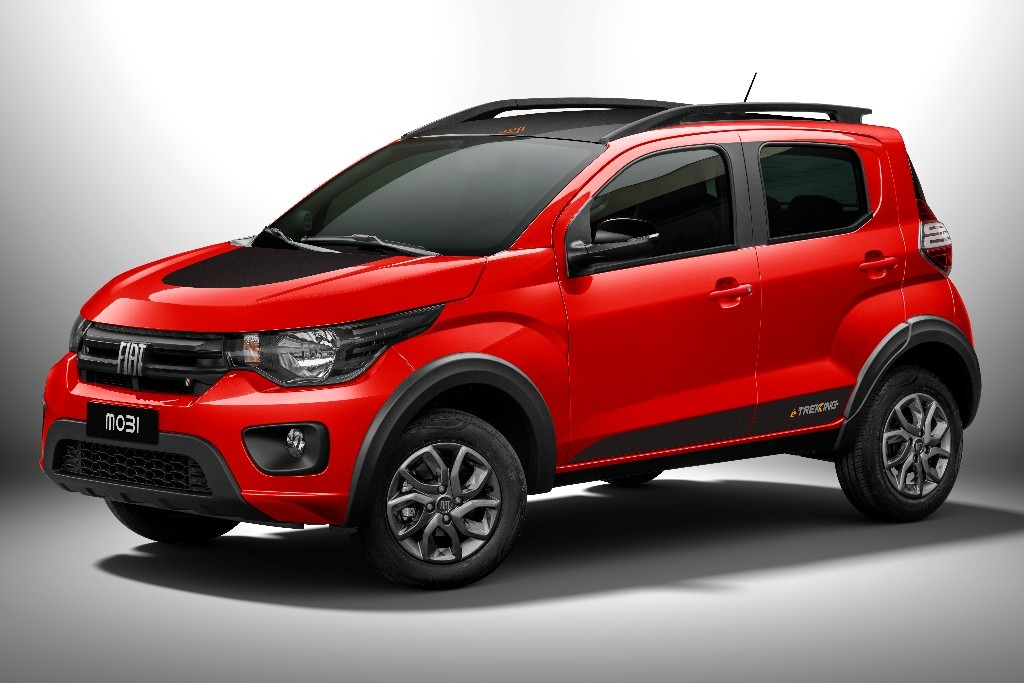 El Fiat Mobi adopta el nuevo logo de la marca
