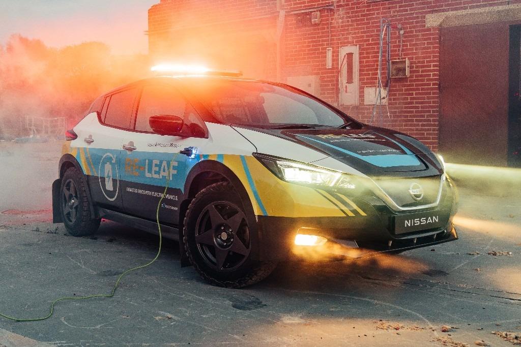 Nissan Re-Leaf, el eléctrico que brinda apoyo ante desastres naturales