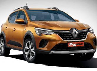 Así podrían quedar los nuevos Renault Sandero y Logan