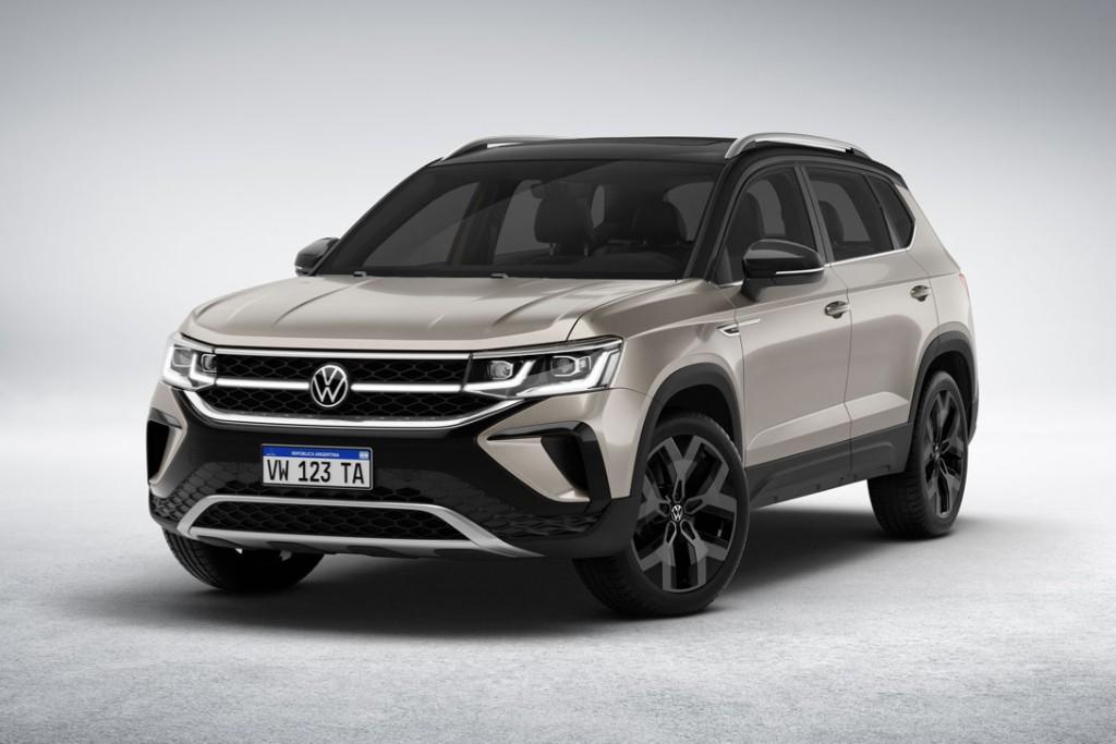 Volkswagen difundió datos técnicos del Taos