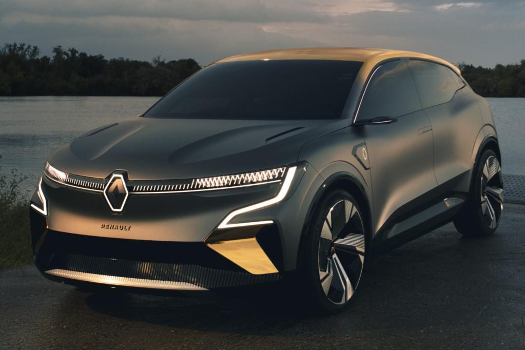 eVision: el Renault Mégane se hace crossover y eléctrico