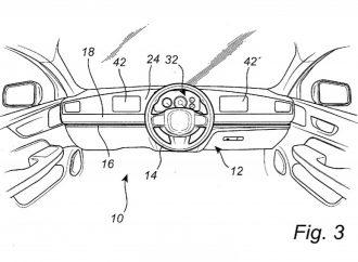 """Volvo patenta un volante """"corredizo"""""""