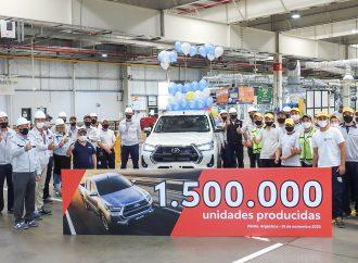 Toyota produce la unidad 1.500.000 en Zárate