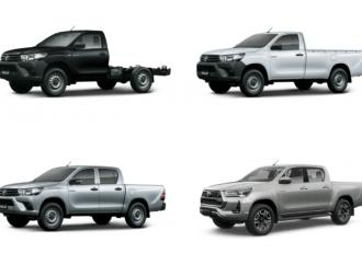 De base a full: qué trae y cómo luce cada versión de la nueva Toyota Hilux