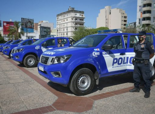 Nissan Frontier para policía cordobesa