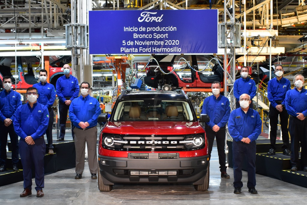Ford ya produce la Bronco Sport en México: en Argentina en 2021