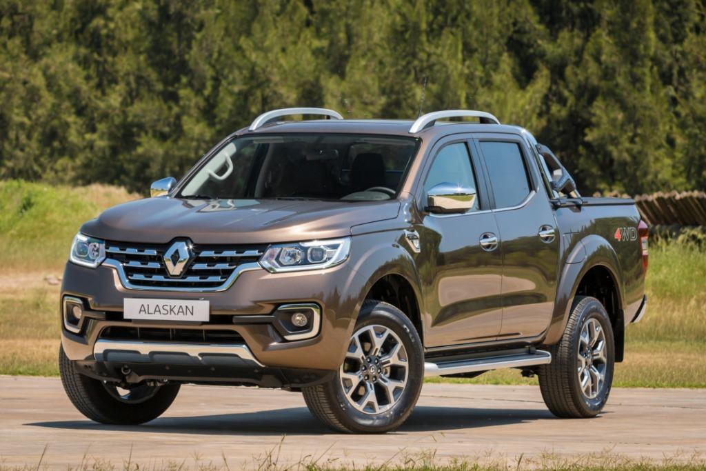 Renault lanza la Alaskan en la Argentina