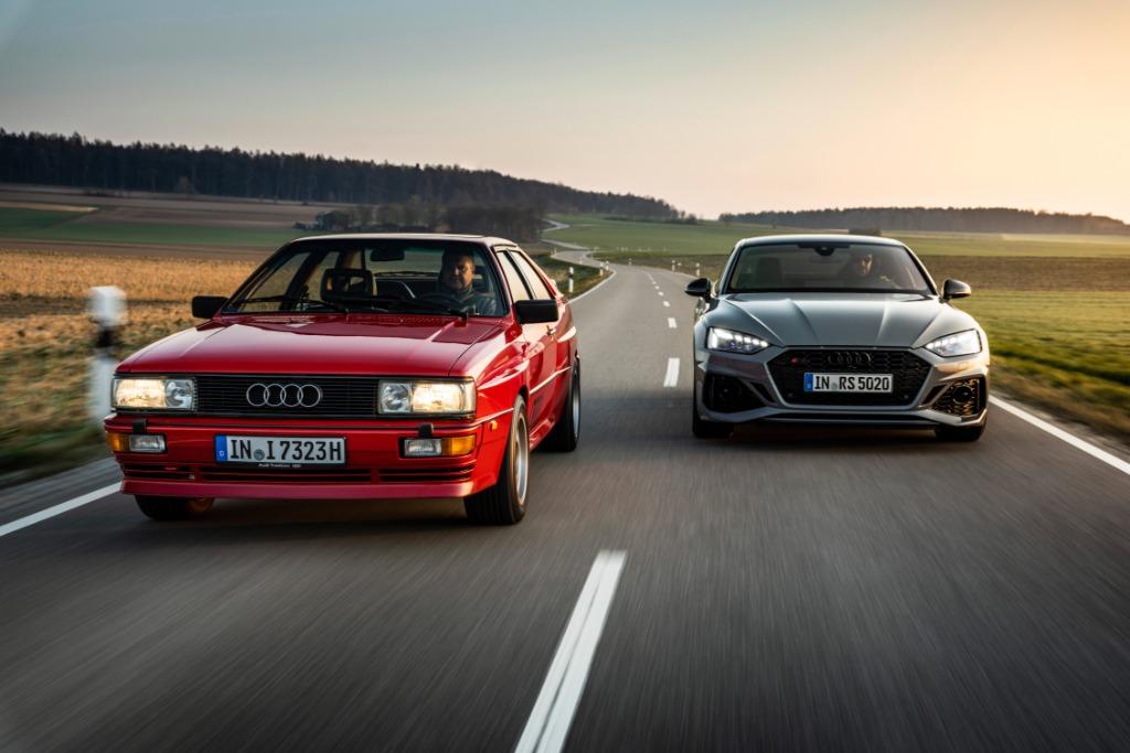 Audi festeja los 40 años del sistema Quattro