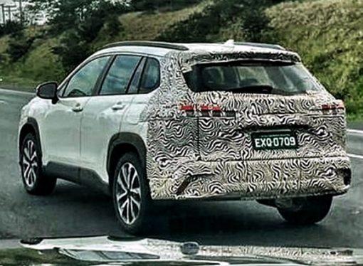Toyota ya prueba el Corolla Cross en Brasil