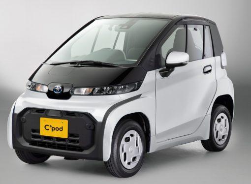 C+Pod, el smart eléctrico de Toyota