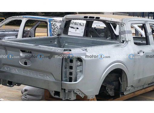 La Ford Maverick muestra su carrocería definitiva