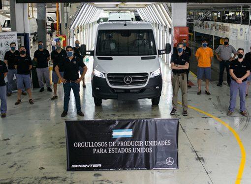 Mercedes reinició la exportación de Sprinter a EE.UU.