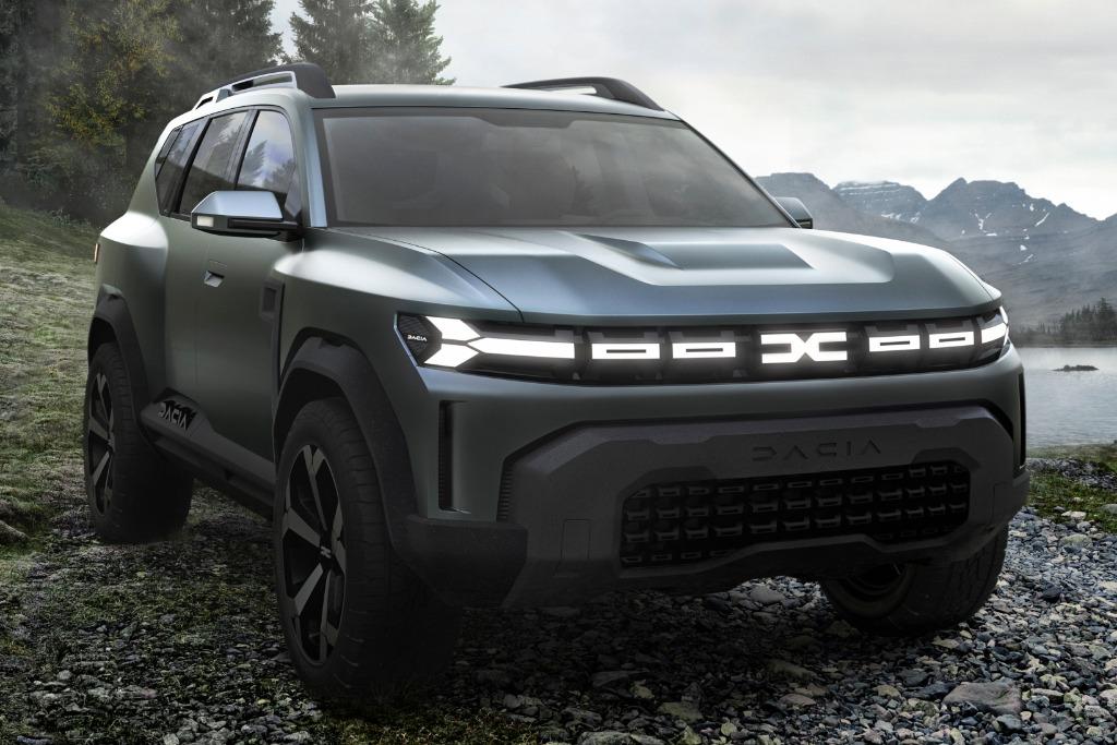 """El Dacia Bigster anticipa el """"Compass"""" de Renault para el Mercosur"""