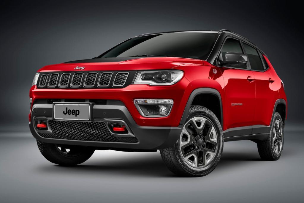 Jeep lanza el Compass Trailhawk turbodiesel