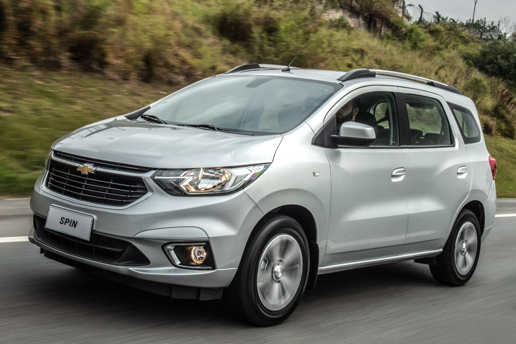 Habrá una nueva Chevrolet Spin, pero mantendrá la plataforma