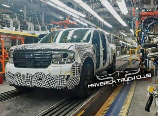 La Ford Maverick al desnudo. ¿Llegará este año al país?