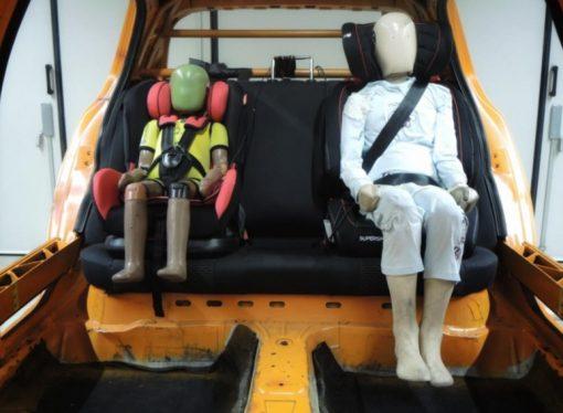 Latin NCAP difundió nuevos resultados para sillas infantiles