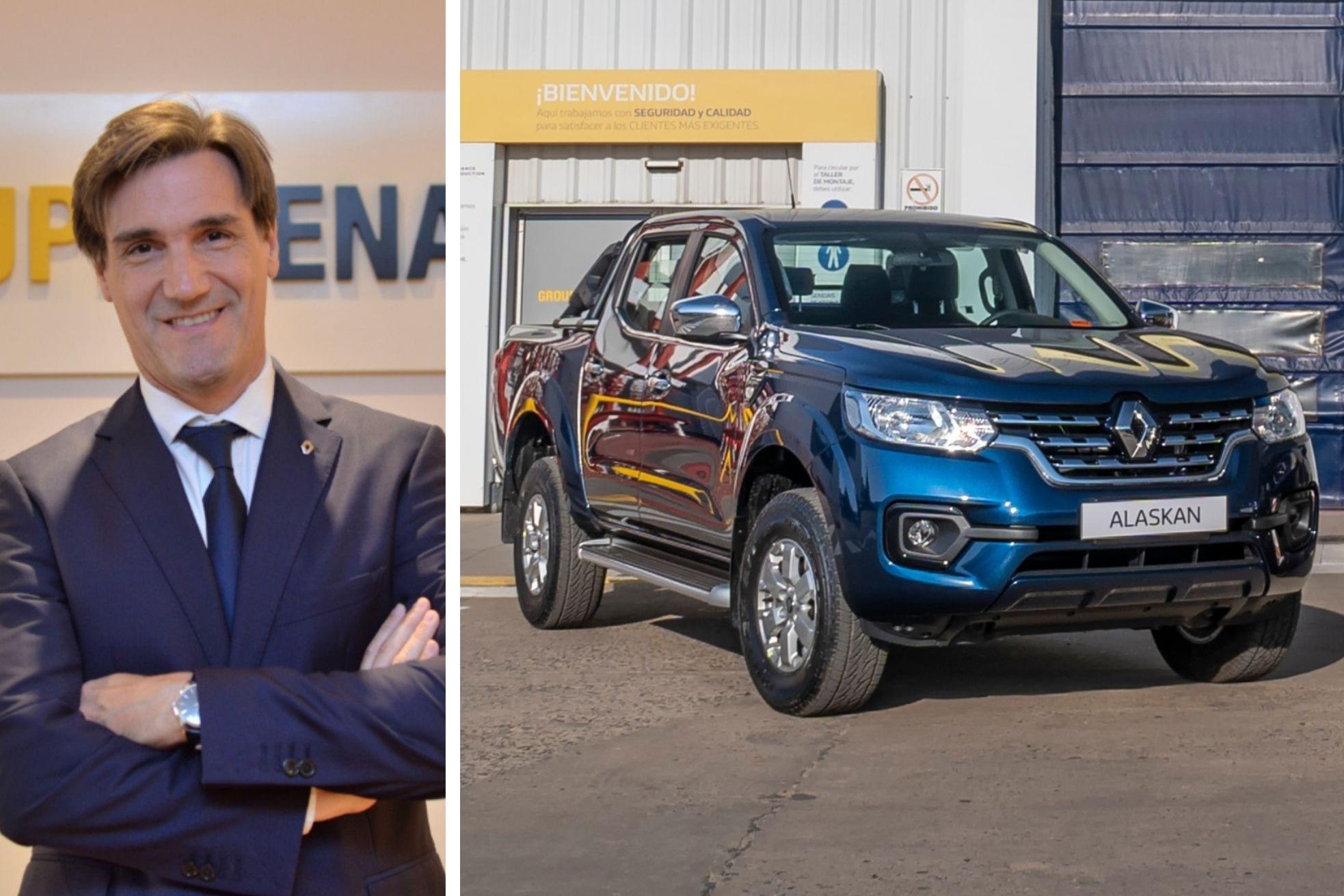 """Renault: """"Tenemos el firme propósito de exportar Alaskan a Brasil"""""""