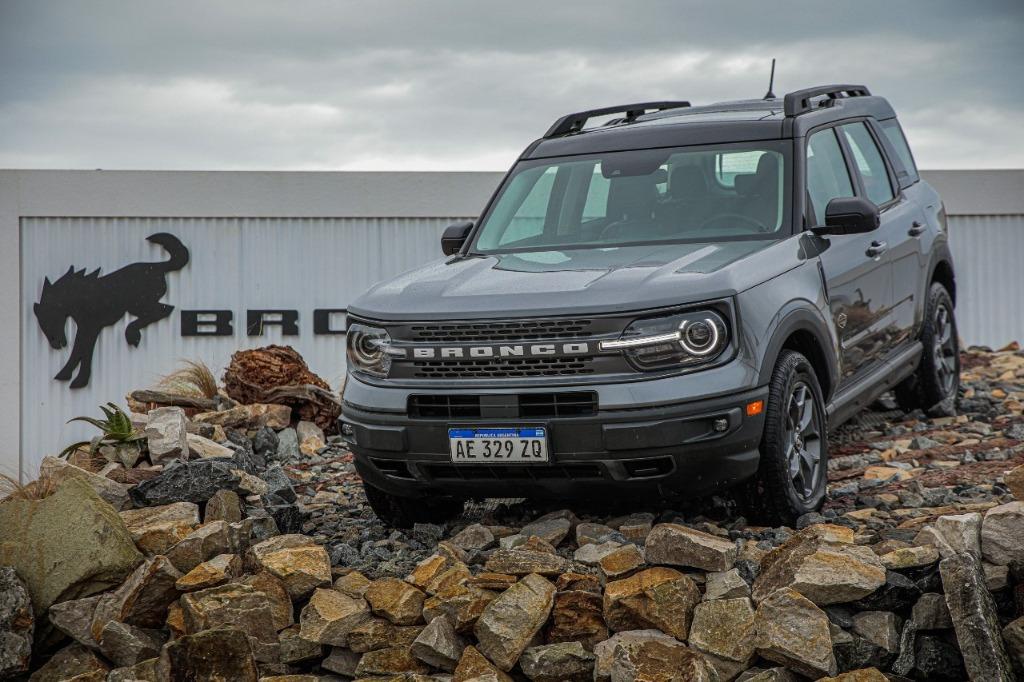 El Ford Bronco ya está en la Argentina